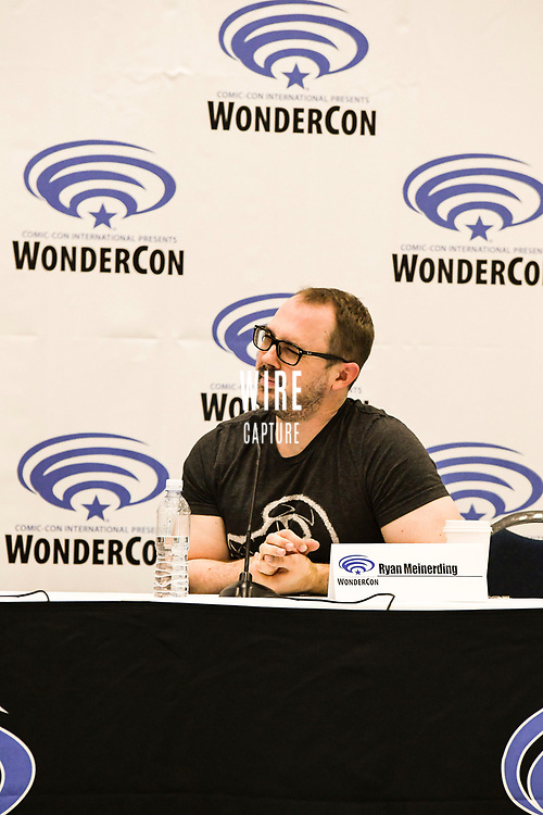 Ryan Meinerding at Wondercon in Anaheim Ca. March 31, 2019