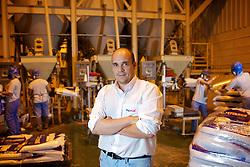 Tadeu Migliavacca na sede da Mig Plus Agroindustrial Ltda, em Casca. FOTO: Jefferson Bernardes/Preview.com