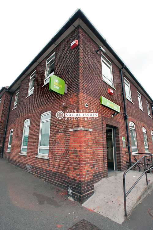 Job Centre Plus in a deprived area awaiting regeneration; Dagenham; East London UK