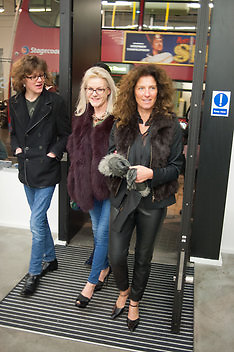 EDWIN TROCME; SUZANNE TROCME; AMANDA MANN, Editor of Wallpaper: Tony Chambers and architect Annabelle Selldorf host drinks to celebrate the collaboration between the architect and three of Savile Row's finest: Hardy Amies, Spencer hart and Richard James. Hauser and Wirth Gallery. ( Current show Isa Genzken. ) savile Row. London. 9 January 2012.