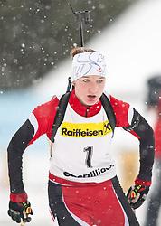 11.12.2010, Biathlonzentrum, Obertilliach, AUT, Biathlon Austriacup, Sprint Lady, im Bild Celina Stanonik (AUT, #1). EXPA Pictures © 2010, PhotoCredit: EXPA/ J. Groder