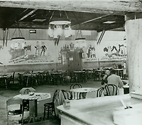 1943 Looking at south wall of the Hollywood Canteen