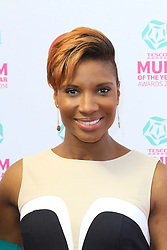 © London News Pictures. Denise Lewis, Tesco Mum of the Year Awards, The Savoy Hotel, London UK, 23 March 2014, Photo by Richard Goldschmidt/LNP