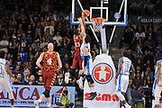 DESCRIZIONE : Campionato 2015/16 Serie A Beko Dinamo Banco di Sardegna Sassari - Umana Reyer Venezia<br /> GIOCATORE : Josh Owens<br /> CATEGORIA : Schiacciata Controcampo<br /> SQUADRA : Umana Reyer Venezia<br /> EVENTO : LegaBasket Serie A Beko 2015/2016<br /> GARA : Dinamo Banco di Sardegna Sassari - Umana Reyer Venezia<br /> DATA : 01/11/2015<br /> SPORT : Pallacanestro <br /> AUTORE : Agenzia Ciamillo-Castoria/C.Atzori