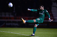 Matt Ingram , the goalkeeper of Northampton Town. EFL Skybet Football League one match, Northampton Town v Portsmouth at the Sixfields Stadium in Northampton on Tuesday 12th September 2017. <br /> pic by Bradley Collyer, Andrew Orchard sports photography.