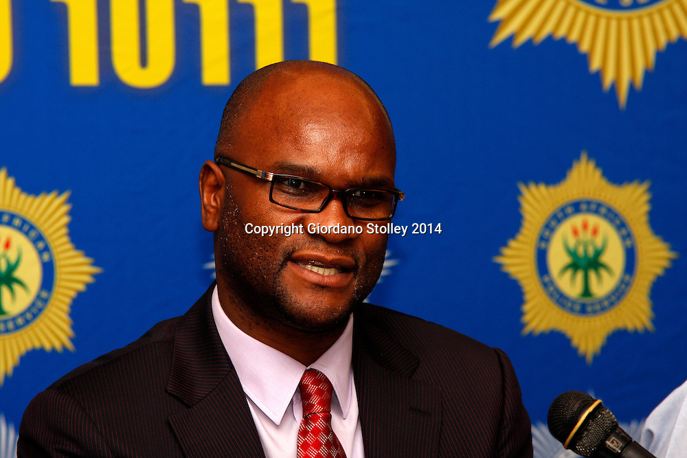 DURBAN - 7 February 2014 - South Africa's national police minister Nathi Mthethwa speaks at a press conference in Durban where 1500 police station commanders attended a conference at Durban's Inkosi Albert Luthuli International Convention Centre. Picture: Allied Picture Press/APP