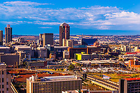 Skyline, Central Business District, Johannesburg, South Africa.
