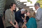 SAFRON ALDRIDGE; SARAH SANDS, Party  to celebrate Julia Peyton-Jones's  25 years at the Serpentine. London. 20 June 2016