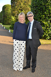 TIM & LADY HELEN TAYLOR at The Ralph Lauren & Vogue Wimbledon Summer Cocktail Party at The Orangery, Kensington Palace, London on 22nd June 2015.  The event is to celebrate ten years of Ralph Lauren as official outfitter to the Championships, Wimbledon.