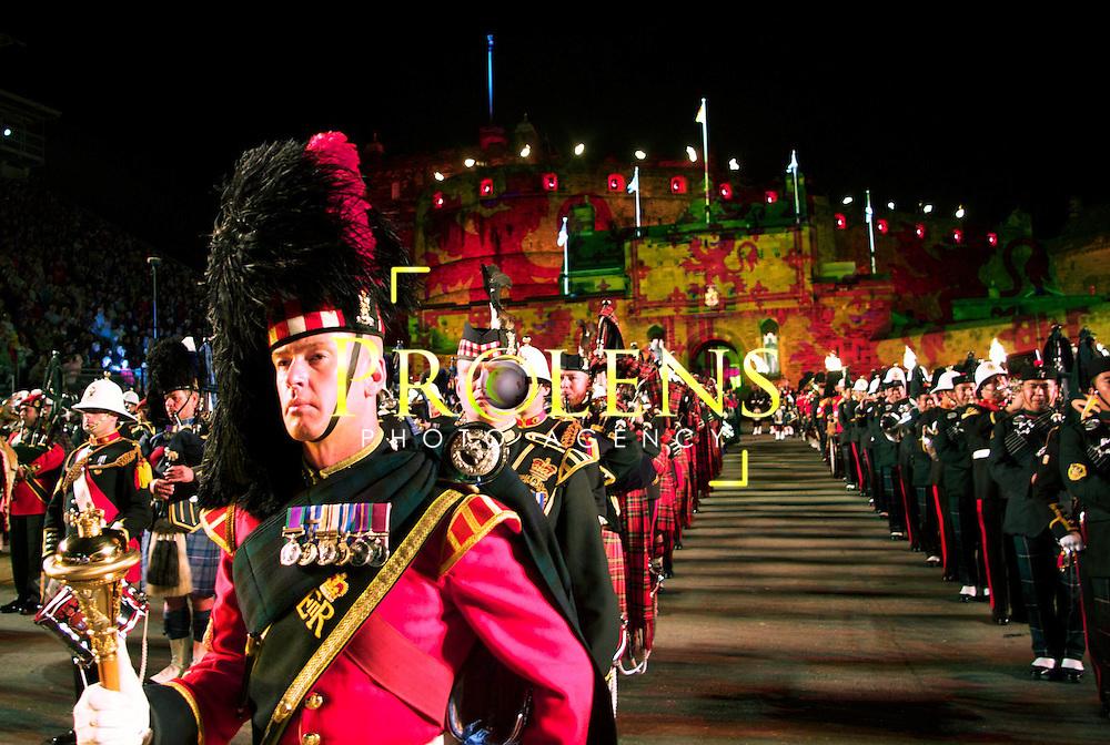THE ROYAL EDINBURGH MILITARY TATTOO 2011.<br /> <br /> PIC MARK DAVISON/PLPA