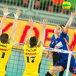 20151105: SLO, Volleyball - CEV Champions League 2015/16, ACH Volley vs Modena Volley