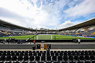 A general view of the Estadio D. Afonso Henriques ahead of the UEFA Nations League semi-final match between Netherlands and England at Estadio D. Afonso Henriques, Guimaraes, Portugal on 6 June 2019.