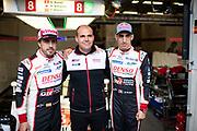 June 10-16, 2019: 24 hours of Le Mans. 8 Fernando Alonso, Toyota Gazoo Racing, TOYOTA TS050 - HYBRID , 8 Sébastien Buemi, Toyota Gazoo Racing, TOYOTA TS050 - HYBRID