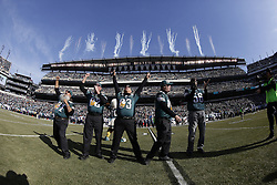 The Philadelphia Eagles Pep Band performs the Eagles fight song before the NFL game between the Tennessee Titans and the Philadelphia Eagles at Lincoln Financial Field in Philadelphia, Pennsylvania on Sunday November 16th 2014. The Eagles won 43-24. (Brian Garfinkel/Philadelphia Eagles)