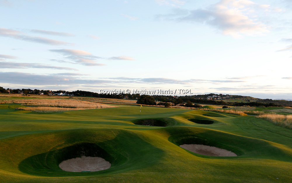12th par 4 Muirfield,The Honourable Company Of Edinburgh Golfers,Gullane,East Lothian,Scotland.Venue for the 2013 Open Championship,with Ernie ELS (RSA) defending his title,and who was also the winner here in 2002.