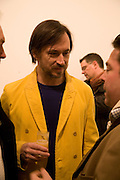 MARC NEWSON, Exhibition of work by Marc Newson at the Gagosian Gallery, Davies st. London. afterwards at Mr. Chow, Knightsbridge. 5 March 2008.  *** Local Caption *** -DO NOT ARCHIVE-© Copyright Photograph by Dafydd Jones. 248 Clapham Rd. London SW9 0PZ. Tel 0207 820 0771. www.dafjones.com.