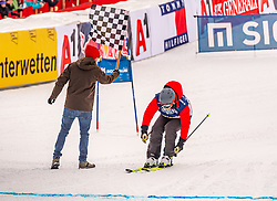 25.01.2020, Streif, Kitzbühel, AUT, FIS Weltcup Ski Alpin, im Rahmen der KitzCharityTrophy 2020 am Samstag, 25. Jänner 2020, auf der Streif in Kitzbühel. // f.l. Sebastian Vettel and Didier Cuche during the KitzCharityTrophy 2020 at the Streif in Kitzbühel, Austria on 2020/01/25, im Bild v.l. Sebastian Vettel, Didier Cuche // f.l. Sebastian Vettel and Didier Cuche during the KitzCharityTrophy 2020 at the Streif in Kitzbühel, Austria on 2020/01/25. EXPA Pictures © 2020, PhotoCredit: EXPA/ Stefan Adelsberger