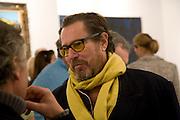 JULIAN SCHNABEL, VIP Opening   ART BASEL MIAMI BEACH.  Convention Centre. Miami Beach. 3 December 2008 *** Local Caption *** -DO NOT ARCHIVE-© Copyright Photograph by Dafydd Jones. 248 Clapham Rd. London SW9 0PZ. Tel 0207 820 0771. www.dafjones.com.