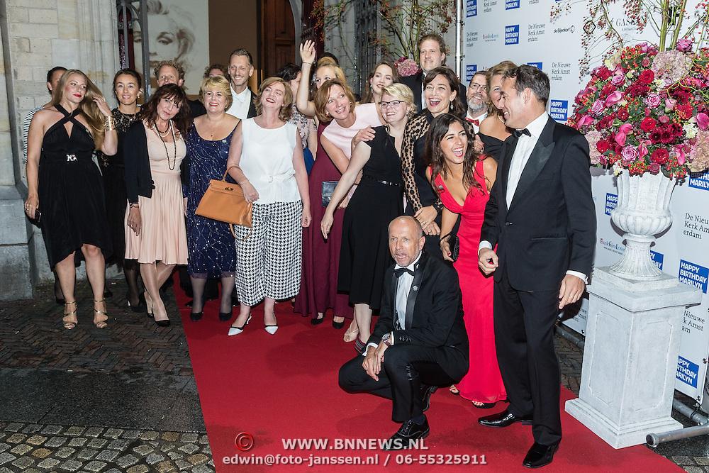 NLD/Amsterdam/20160929 - VIP opening 90 Jaar Marilyn,