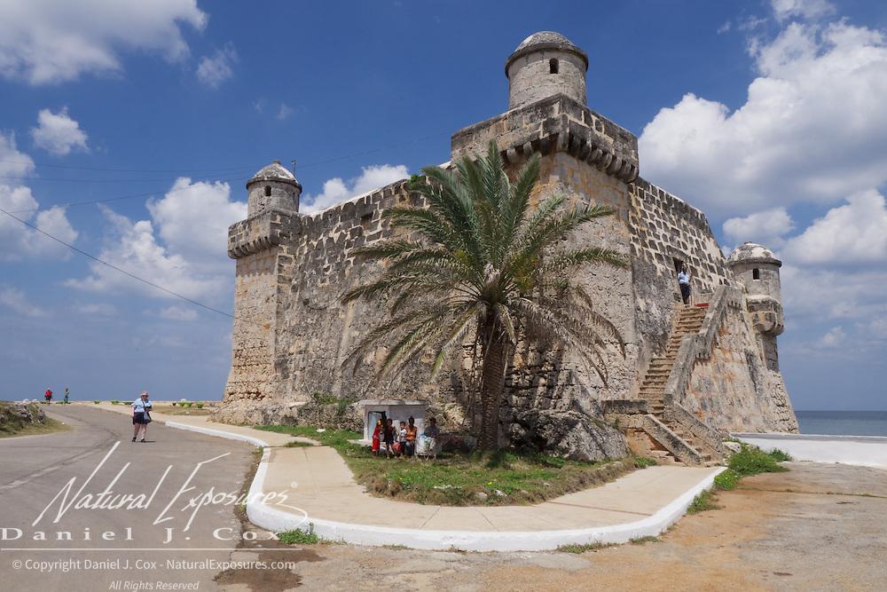 An old Spanish Fort in Cojimar, Cuba