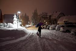 Kranjska Gora one day before 50th Golden Fox Audi Alpine FIS Ski World Cup Ladies Giant Slalom, on January 31, 2014 in Podkoren, Kranjska Gora, Slovenia. (Photo By Matic Klansek Velej / Sportida.com)