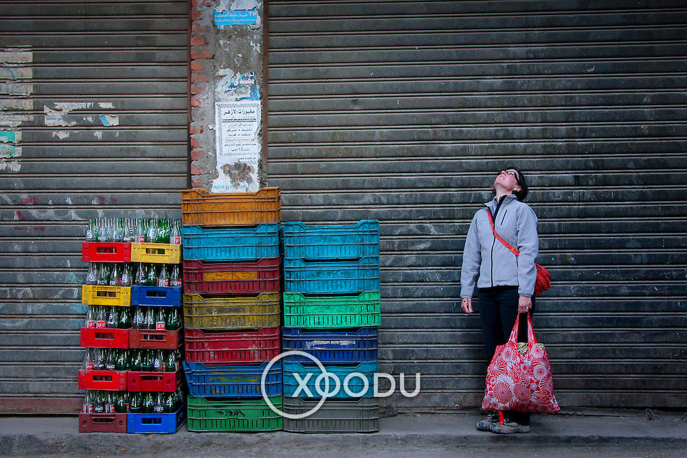 Looking up, Cairo, Egypt (January 2008)