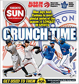 September 28, 2021 - CANADA: Front-page: Today's Newspapers In Canada