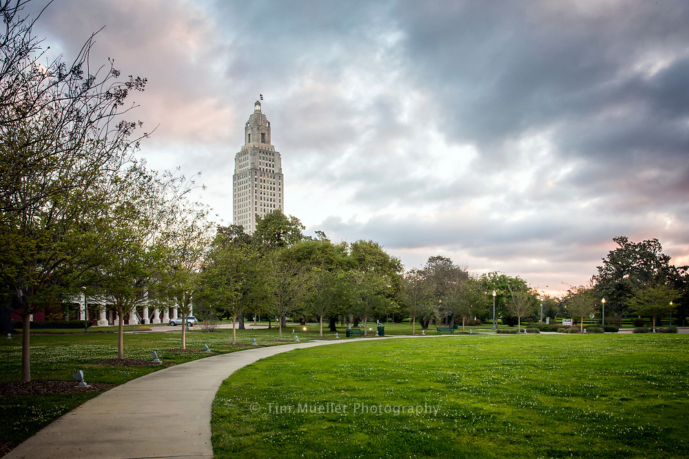 A.Z. Young Park and the State Capitol Grounds are beautiful places to visit in Baton Rouge, La.