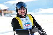 Stefan Roos, Teilnehmer beim Renzo's Schneeplausch vom 23. Januar 2016 in Vella, Gemeinde Lumnezia.