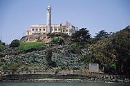 Alcatraz Island in San Francisco Bay, California