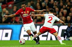 Anthony Martial of Manchester United takes on Cedric Soares of Southampton - Mandatory by-line: Matt McNulty/JMP - 26/02/2017 - FOOTBALL - Wembley Stadium - London, England - Manchester United v Southampton - EFL Cup Final