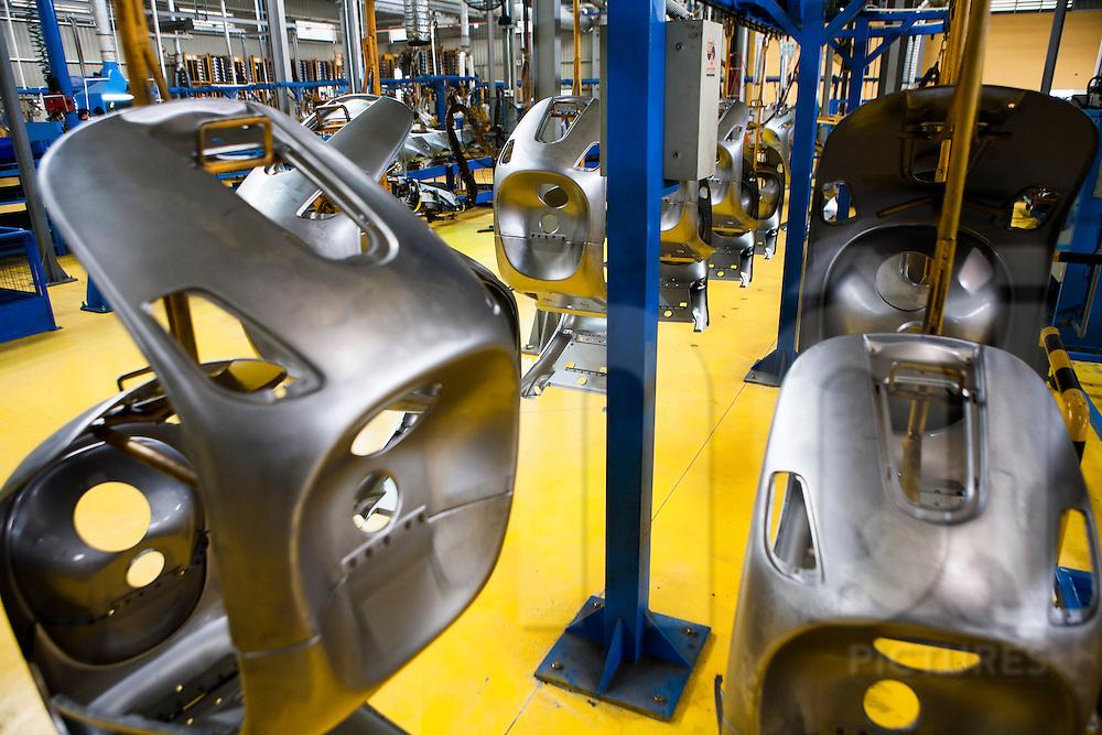 Piaggio (Vespa) assembly line factory in Vinh Phuc, Vietnam, Southeast Asia