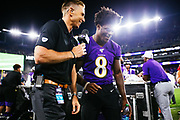 August 8, 2019<br /> Car camping with the Pulone family in Catoctin Ravens v Jaguars pre-season game at M&T Bank Stadium in Baltimore, MD