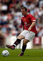 Fotball<br /> England 2005/2006<br /> Foto: SBI/Digitalsport<br /> NORWAY ONLY<br /> <br /> Clyde v Manchester United, Preseason Friendly. 16/07/2005.<br /> <br /> Manchester United's Wayne Rooney