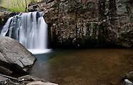 This is Kilgore Falls at Rocks State Park