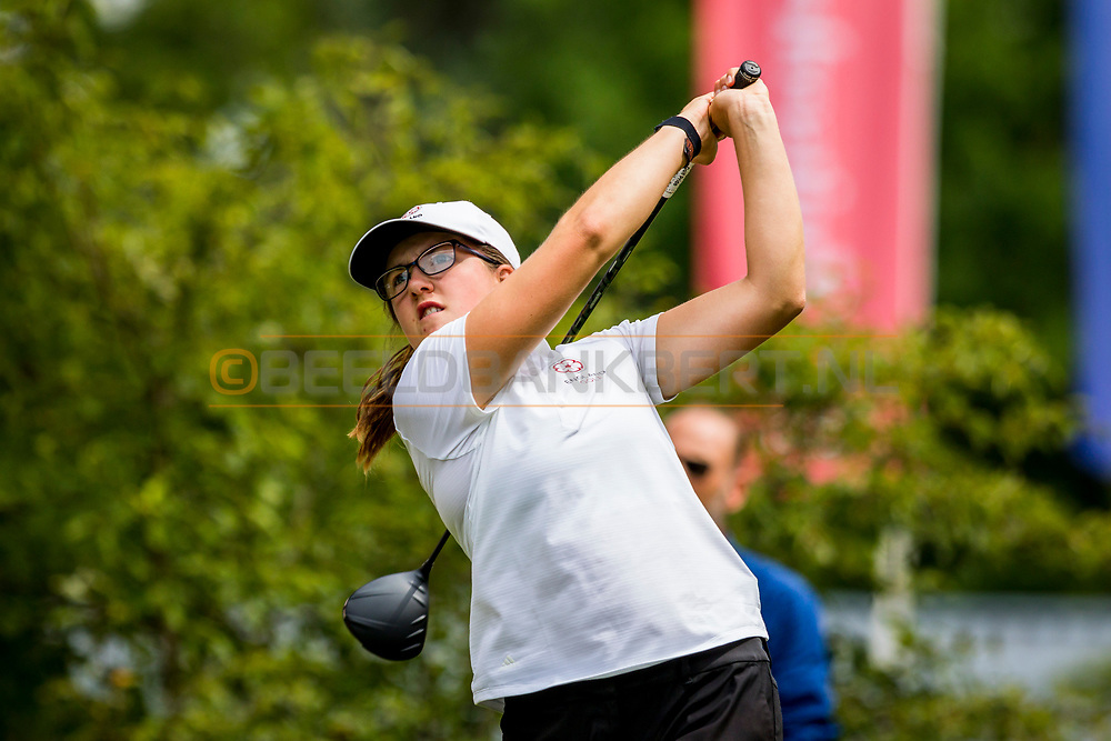 20-07-2019 Pictures of the final day of the Zwitserleven Dutch Junior Open at the Toxandria Golf Club in The Netherlands.<br /> WILLIAMSON, Amelia