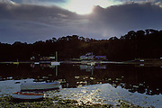 Dawn at Helford Estuary in Cornwall, United Kingdom