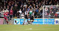 Photo: Mark Stephenson/Richard Lane Photography. <br /> Scunthorpe United v Cardiff City. Coca-Cola Championship. 19/04/2008. Scunthorpe's Kevan Hurst scores there 2ed goal