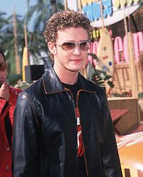 Aug 06, 2000; Santa Monica, California, USA; Singer JUSTIN TIMBERLAKE one of the members of boy band *NSYNC, at the 2000 Teen Choice Awards, held at Barker Hangar. (Credit Image: © Lisa O'Connor/ZUMAPRESS.com)