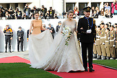 Religious wedding of Grand Duke Guillaume and Princess Stephanie