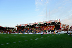 A general view of Ashton Gate - Photo mandatory by-line: Dougie Allward/JMP - Mobile: 07966 386802 - 23/11/2014 - SPORT - Rugby - Bristol - Ashton Gate - Bristol Rugby v Rotherham Titans - Greene King IPA Championship