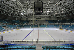 October 30, 2017 - Pyeongchang, Gangwon, South Korea - Oct 30, 2017-Pyeongchang, South Korea-A Shows Gangneung Hockey Centre in Gangneung, South Korea. The facility will be used for ice hockey in the Pyeongchang Winter Olympics in February 2018. (Credit Image: © Ryu Seung Il via ZUMA Wire)
