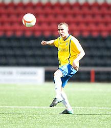 Cowdenbeath's Scott Linton..Airdrie United 1 v 5 Cowdenbeath, 20th August 2011..© pic : Michael Schofield.
