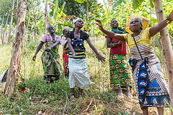 Celebrating The Moving Of The Water Tank To The Batwa Village