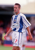 Karl Duguid - Colchester. Colchester United v AFC Bournemouth. League Division Two, 2/9/00. Credit Colorsport / Nick Kidd.