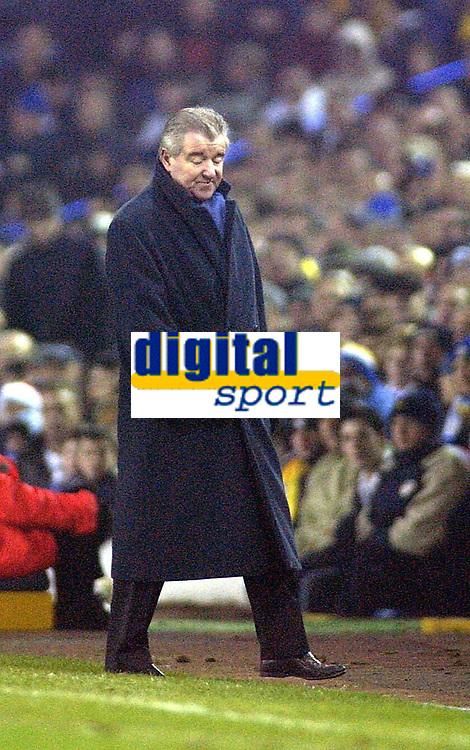 Fotball - Premier League - 21.12.2002<br /> Leeds v Southampton<br /> Terry Venables - manager Leeds<br /> Foto: Digitalsport