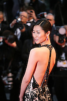 Liu Wen attending the gala screening of Amour at the 65th Cannes Film Festival. Sunday 20th May 2012 in Cannes Film Festival, France.