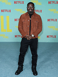 Actor Lil Rel Howery arrives at the Los Angeles Premiere Of Netflix's 'The Harder They Fall' held at the Shrine Auditorium and Expo Hall on October 13, 2021 in Los Angeles, California, United States. Photo by Xavier Collin/Image Press Agency/ABACAPRESS.COM