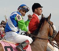 132nd Kentucky Derby won by Barbaro with Edgar Prado