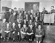 Irish Shell - Reception for 25 year Staff Members .01/02/1958 .